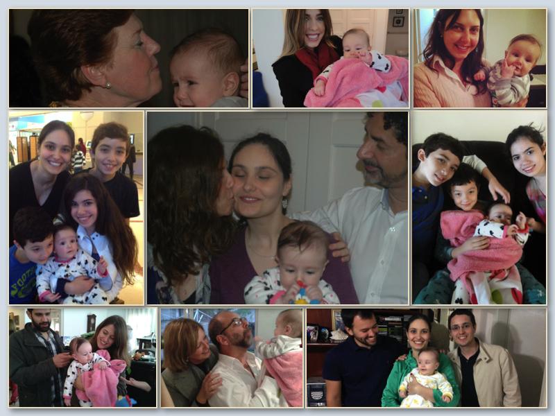 cecilia e familia