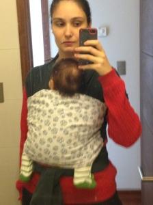 Cecília com quase 3 meses