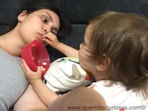 Não se alimenta de amor só com leite materno, afinal de contas...